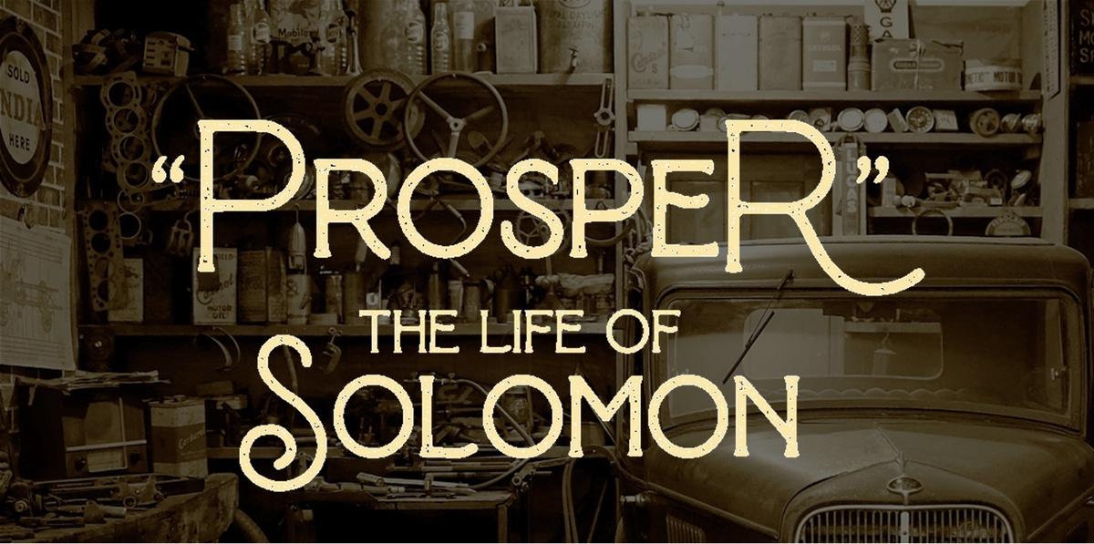 #1 What Is Prosperity?