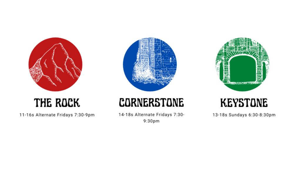 Park Church Stoke Youthgroups cover logo