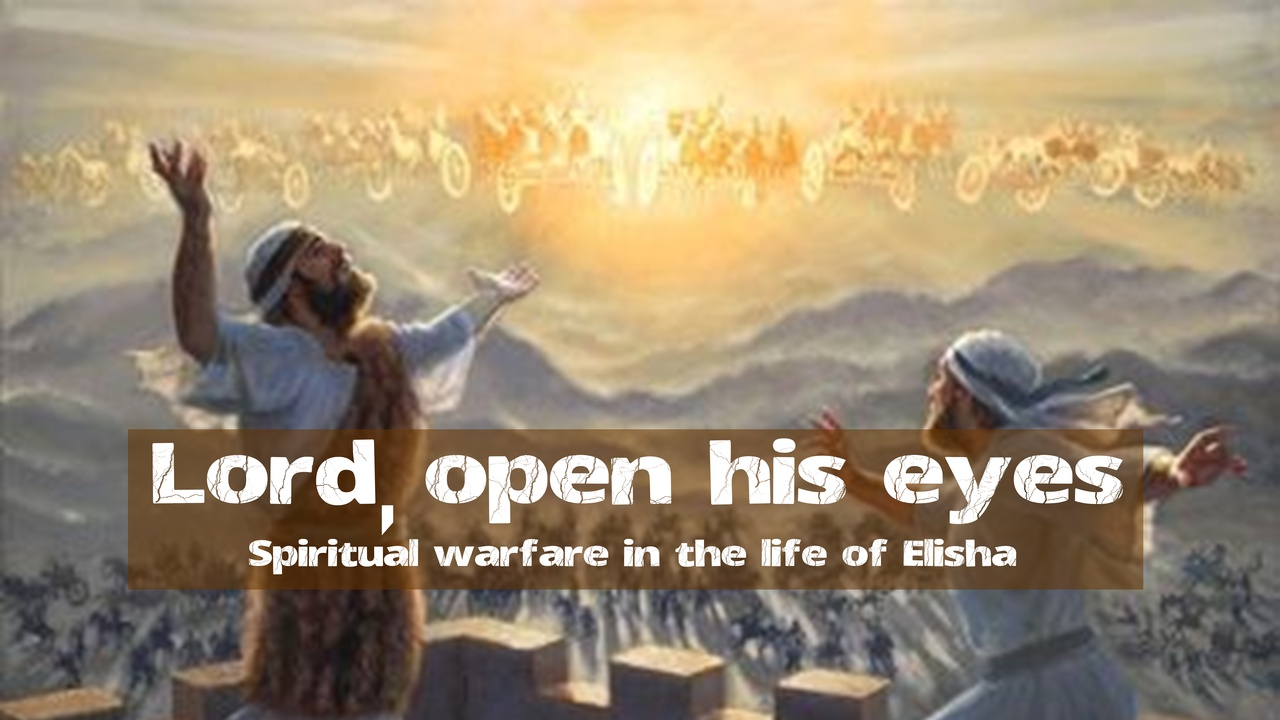 #2 Lord, Open His Eyes