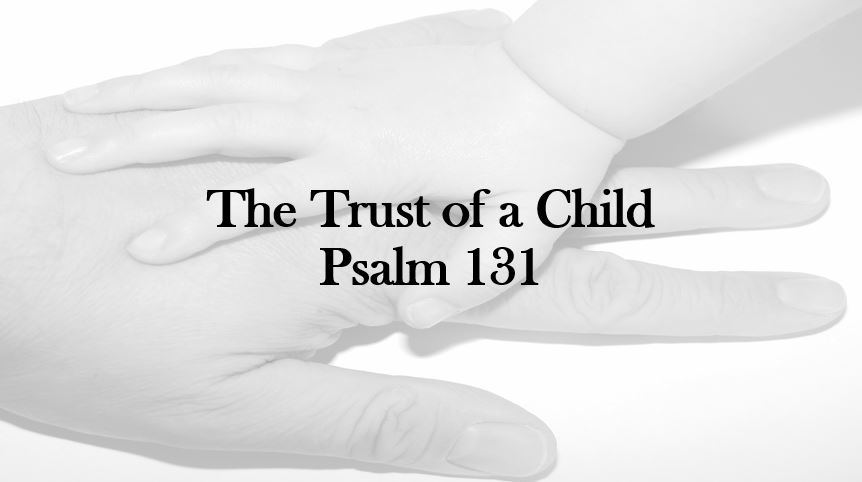 The Trust Of A Child
